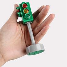 """[Temil] 5 шт./компл. Семья безопасности дорожного движения развивающая игрушка движения светильник, футболка с принтом """"автомобиль игрушка Коллекция Модель Красный Зеленый светильник для маленьких детей в подарок"""