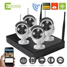Sistema de Cámara Inalámbrica Wifi IP CCTV Seguridad Para El Hogar 4CH 960 P KIT NVR 1.3MP IP Wifi HD Al Aire Libre Día Noche CCTV Kit [26]