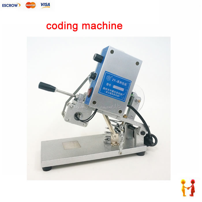 все цены на  50W Manual hot marking coding machine work for PET, PT, KT, OPP, COP and some other plastic film  онлайн