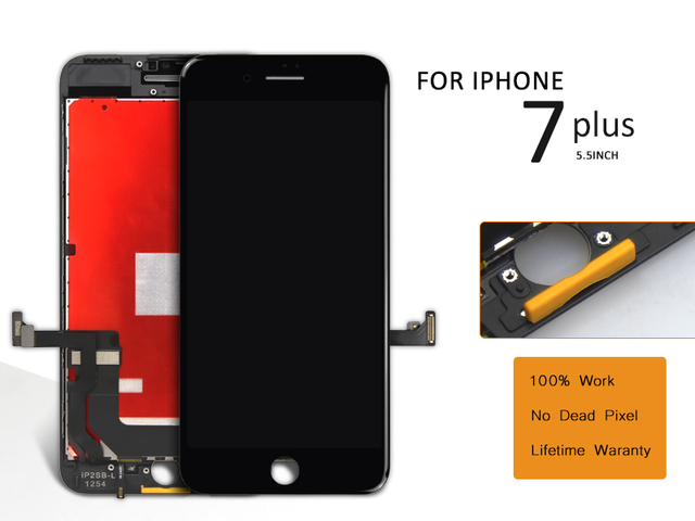 Alibaba china Highscreen 5.5 inch For iPhone 7 plus LCD Display and Touch Screen Digitizer Assembly