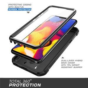 Image 3 - Pour LG V40 ThinQ V40 étui SUPCASE UB Pro robuste boîtier robuste avec protecteur décran intégré et béquille