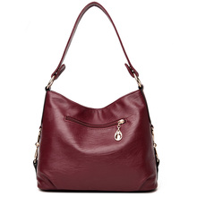Toposhine Brand Top Quality PU Leather Women Handbag Casual Elegant Female Shoulder Bag Solid Dress Large Business Lady Tote Bag