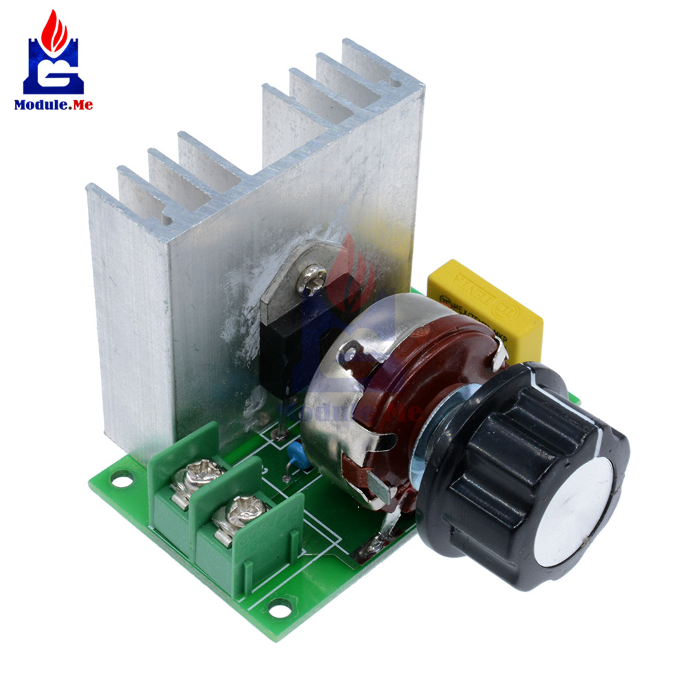 4000W SCR Electronic Voltage Regulator Speed Controller Control Board Governor D