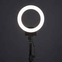 ALLOYSEED LED Ring Light Camera Photo Studio Phone Video 36W 240pcs LED Ring Light 5500K Photography Dimmable Ring Lamp