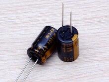 30PCS new Japanese original nichicon audio electrolytic capacitor KZ 47Uf/100V free shipping