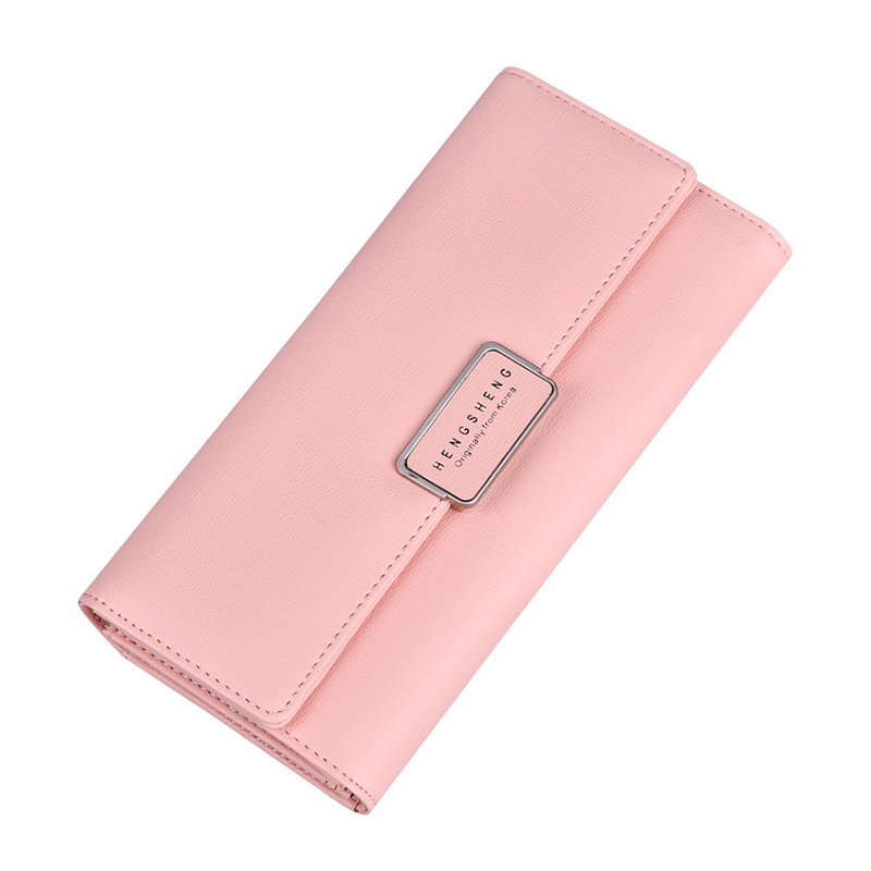 Women Wallet Leather Card Coin Holder Money Clip 2017 Three Fold Long Phone Clutch Candy Color Photo Dollar Price Female Purse цена 2017