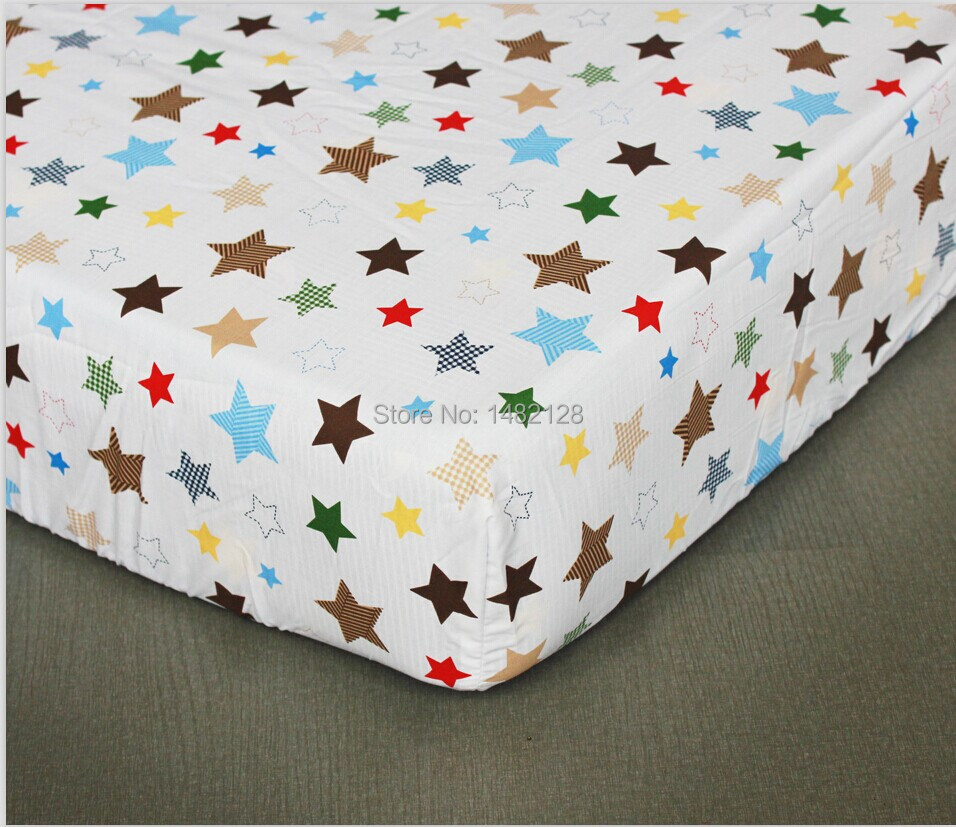 Online Factory Price Ed Baby Boys And S Crib Cotton Bed Sheet Mattress Cover Fit For 130 70 Cot 13 Color Free Shipping Aliexpress Mobile