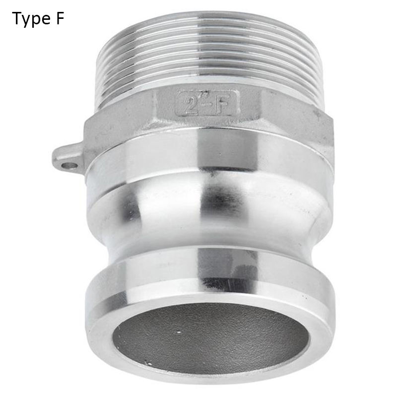 """Type F 2.5"""" 3"""" Stainless Steel 304  Quick Disconnection  Camlock Adapter  Coupler Homebrew Fitting"""