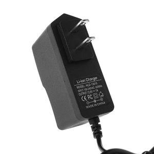 Image 5 - Eu/Us Plug 12.6V 1A Lithium Batterij Oplader 18650/Polymeer Batterij 100 240V 5.5mm X 2.1 Mm Charger Met Draad Lood Dc Constante