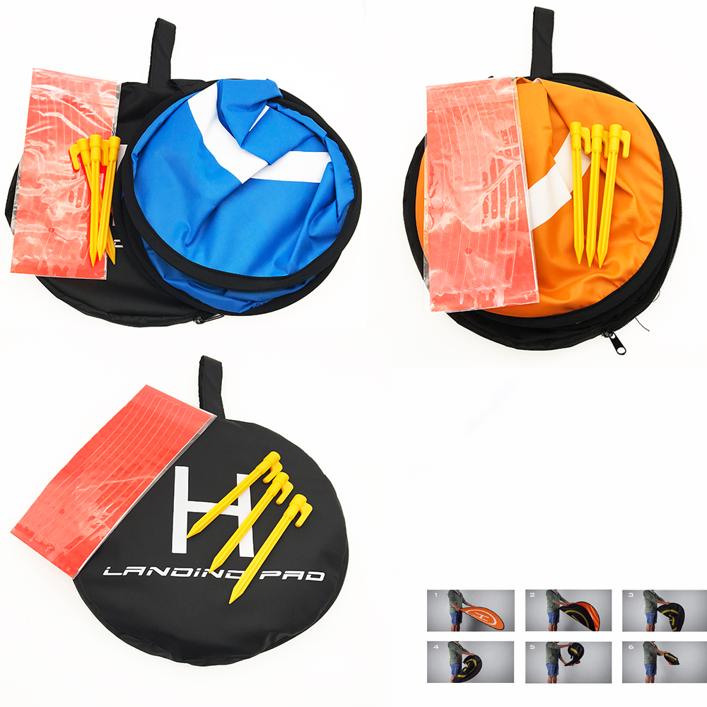 55cm Fast-fold Landing Pad Parking Apron Mavic Pro / Platinum / Air & Spark Helipad Tarmac Drone Quadcopter Parts Accessories