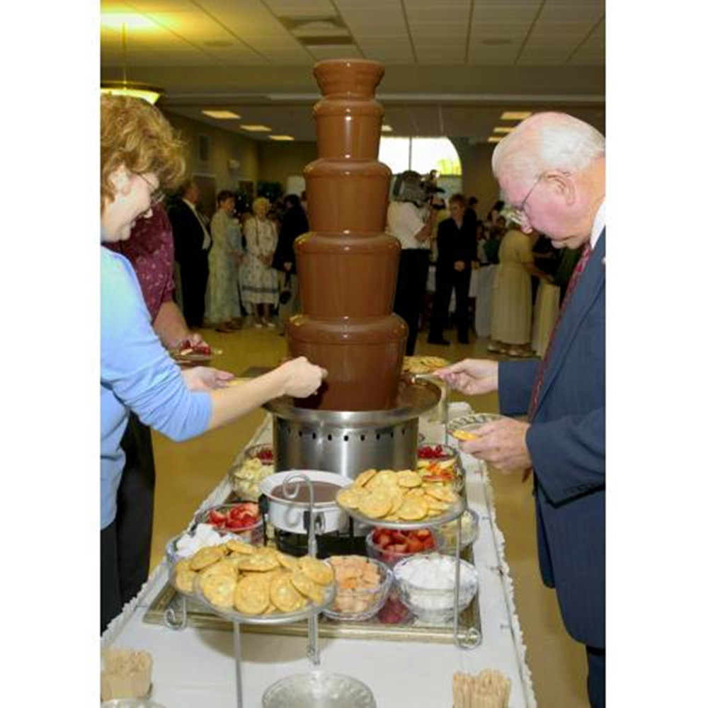 Popular Party Chocolate Fondue Fountain ZF image
