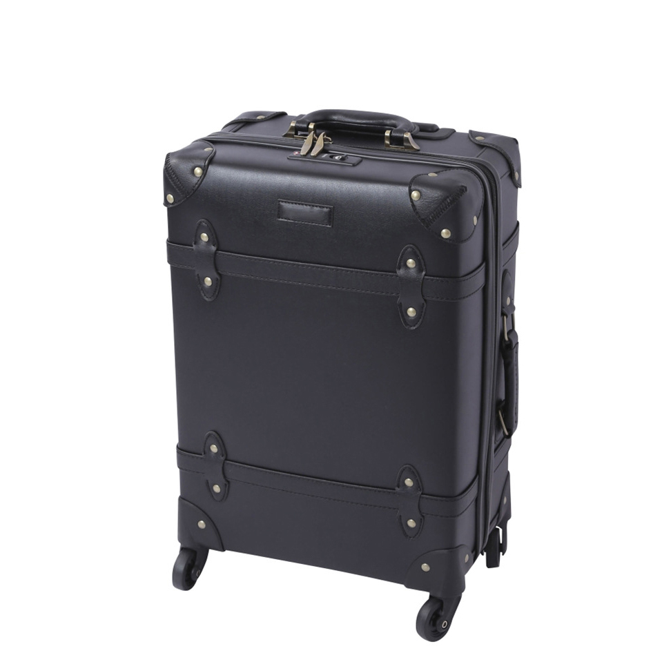 Retro Black Rolling Luggage Spinner High capacity Suitcase Wheels 20 inch Men Women Carry on Trolley Travel Bag oxford rolling luggage spinner men business suitcase wheels 20 inch carry on trolley password 30 inch high capacity travel bag