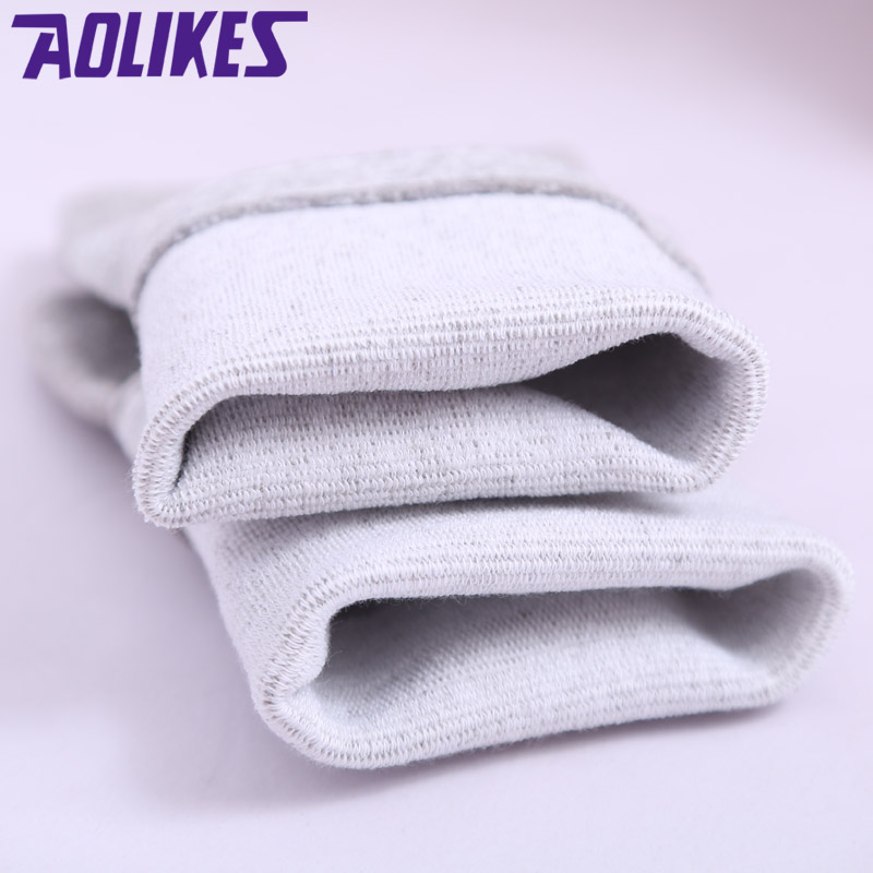 AOLIKES 1P Sports Gym Basketball Football Boxing Compression Ankle Support Protector Badminton protective Ankle Brace Bamboo