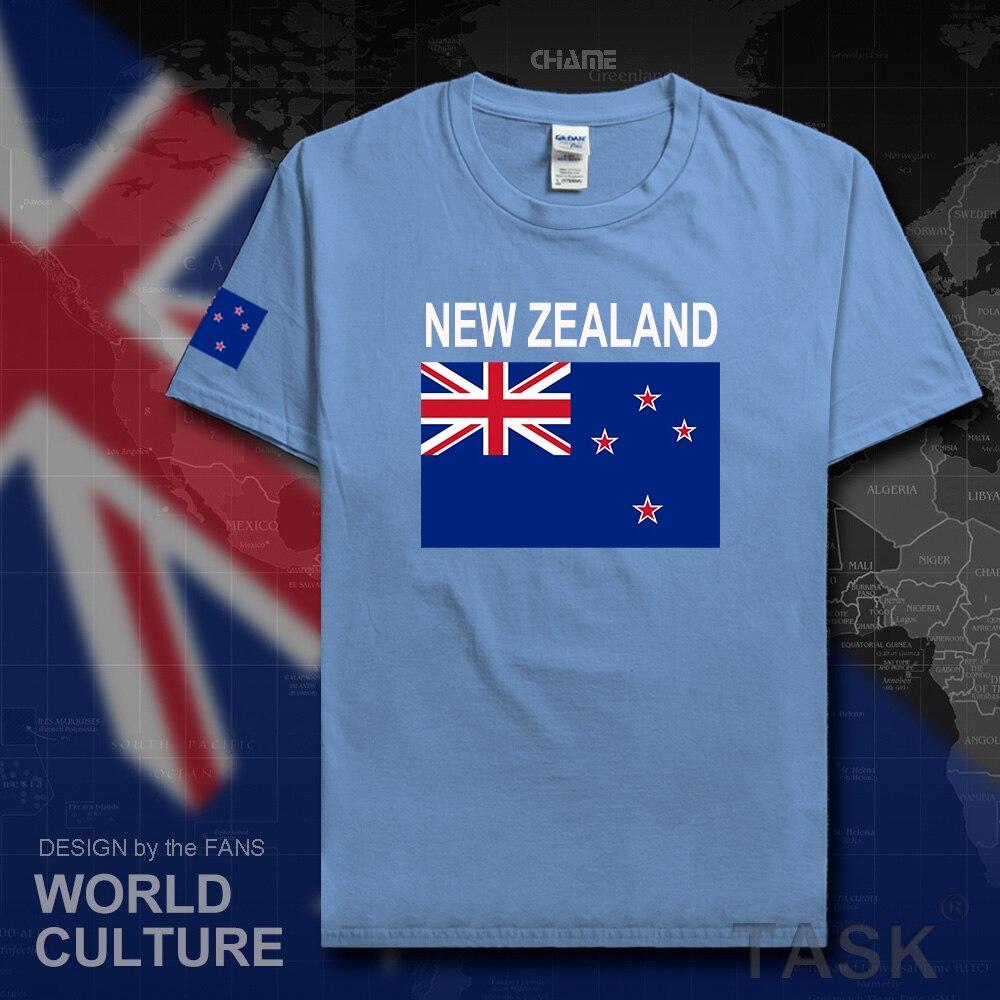 Shirt design nz - New Zealand Mens T Shirt 2017 Jerseys Zealander Nations Tshirt Cotton T Shirt Meeting Fitness Brand Clothing Tee Country Flag Nz