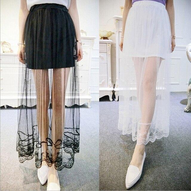 2d2a68e756 La ropa de las mujeres en la moda faldas largas para mujer gasa de seda del