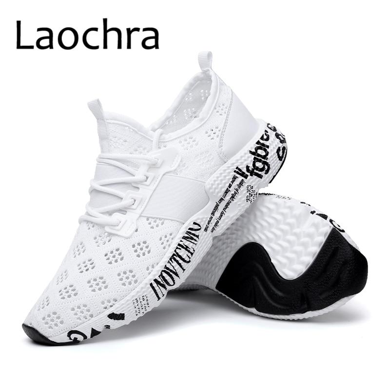 LAOCHRA 2018 New Arrival Men Huarache Style Sneakers Letter Designer - Men's Shoes - Photo 5