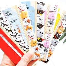 Kawaii блокнот для заметок, креативный милый кот, панда, Липкие заметки, индекс, отправлено, это планировщик, канцелярские товары, школьные принадлежности, бумажные наклейки