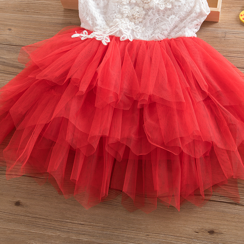 HTB11Emun JYBeNjy1zeq6yhzVXa9 Summer Dresses For Girl 2018 Girls Clothing White Beading Princess Party Dress Elegant Ceremony 4 5 6 Years Teenage Girl Costume