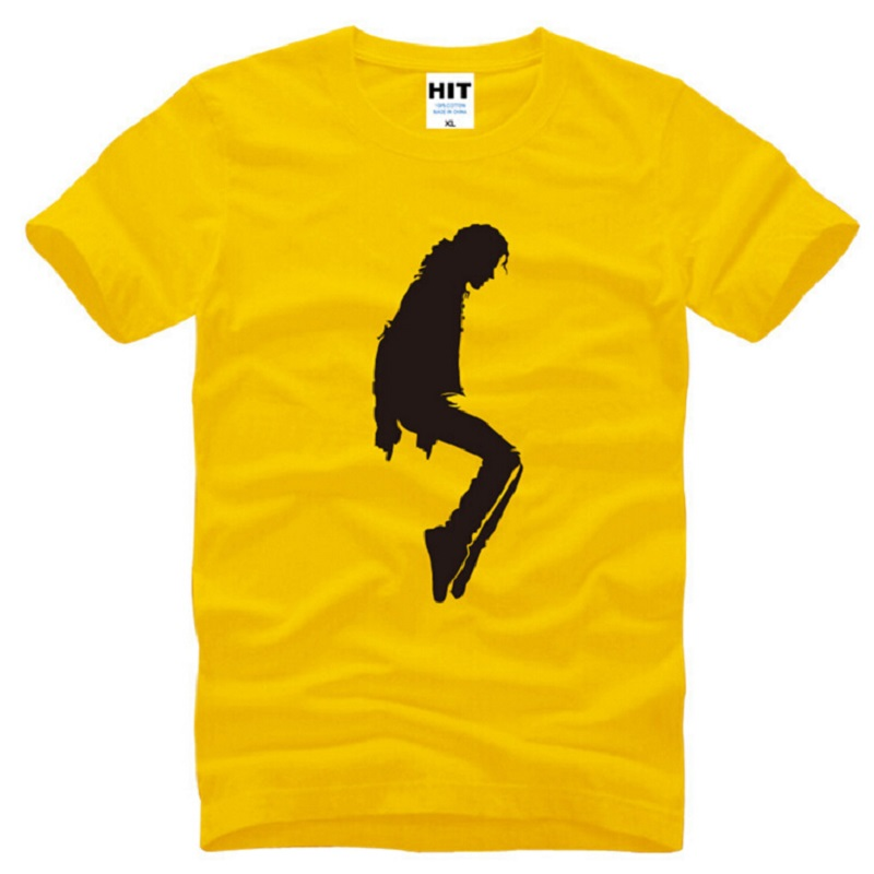 New Designer Michael Jackson T Shirts Men Cotton Short