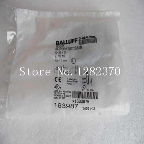 [SA] New original special sales BALLUFF sensor BES M18MF-USC70B-S04K spot 4pcs new for ball uff bes m18mg noc80b s04g