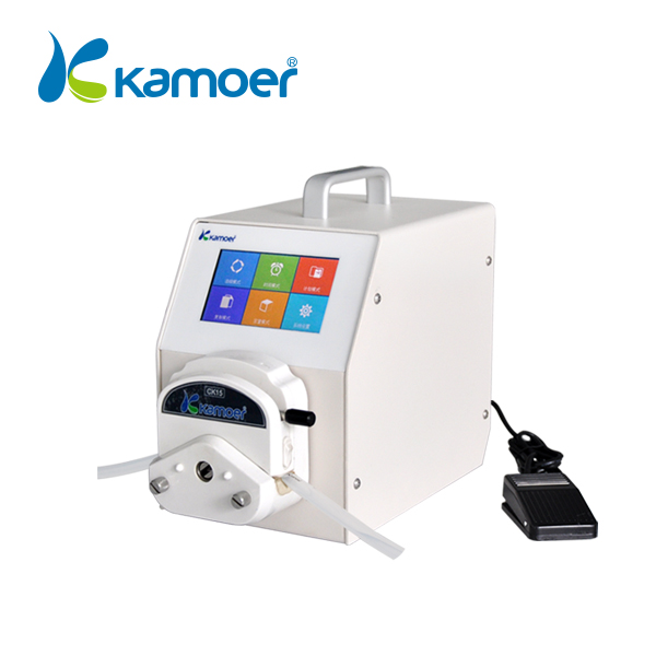 Kamoe intelligent high precision peristaltic pump tubing with adjustable flow rate electric water pump
