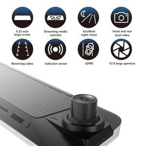 Image 2 - JADO Stream зеркало заднего вида Dvr dash cam era avtoregistrator 10 ips сенсорный экран Full HD 1080 P Автомобильный Dvr регистратор ночного видения