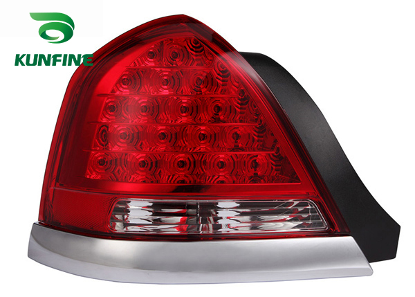Pair Of Car Tail Light Assembly For FORD VICTORIA 2006 Brake Light With Turning Signal Light pair of car tail light assembly for honda city 2014 brake light with turning signal light