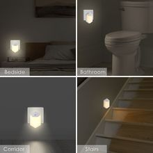 AC110v-240V Warm LED Night Light Room Decor Light-control Sensor Wall Socket Lamp Home Bedroom Decoration Whosale&Dropship