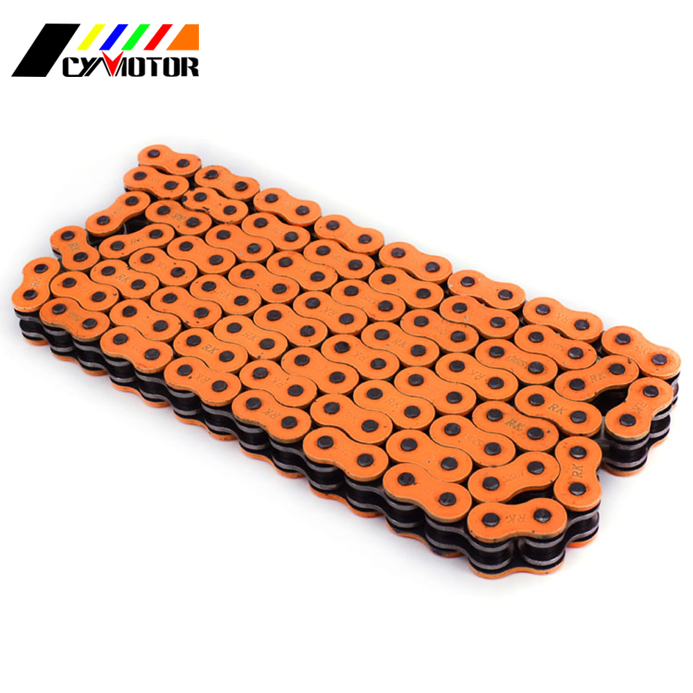 530 x 150 Links O-Ring Motorcycle Chain for Extended Swingarm Orange