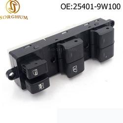 Driver Side Power Master Window Switch For 05-08 Nissan Pathfinder 4.0L 5.6L 25401-9W100 254019W100 25401-ZP40B 25401ZP40B