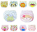 10 pcs/lot Baby Diapers Children Underwear Reusable Diaper Cover Animals Style Washable Training Pants 12 Designs