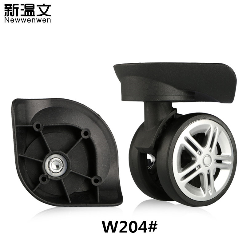 Rubber Replacement Spinner Luggage Wheel,Luggage Wheels parts,Replacement wheels for luggage,Suitcase Wheels Repair W204# new luggage replacement wheels suitcase repair replacement parts 360 spinner upright mute high quality wheels for suitcases 2pcs