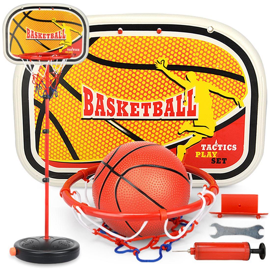165 cm/200 cm équipement de sport intérieur extérieur levage réglable basket-Ball support de panneau arrière et cerceau ensemble avec balle
