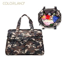 Colorland brand diaper bag storage camouflage large baby care mother Messenger handbag pregnant women