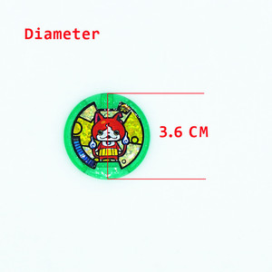 Image 5 - [AIBOULLY] انمي ياباني يوكاي ساعة DX الطرفية يو كاي ساعة معصم ميداليات جمع شعار لعبة 879