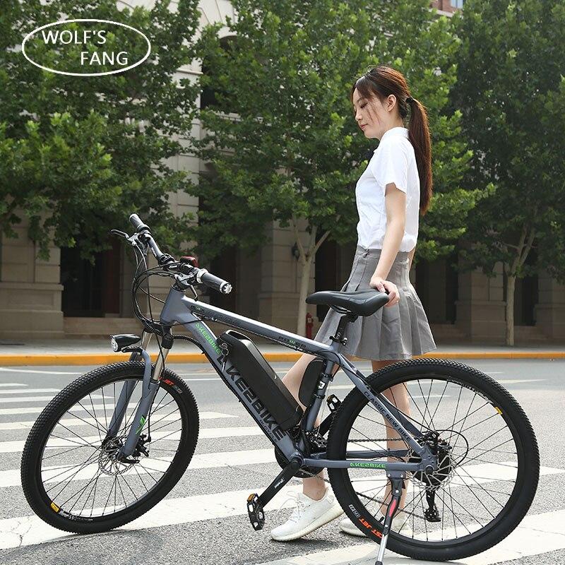 Vélo électrique 36 v 350 w 26 pouce En alliage D'aluminium batterie au lithium 27 vitesse Vtt VTT Livraison gratuite Brushless moteur