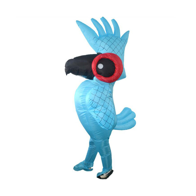 Children Inflatable Toy Inflatable Parrot Cosplay Costume Props Party Inflatable Toys Adult Child Novelty Gags Toys Holiday Gift