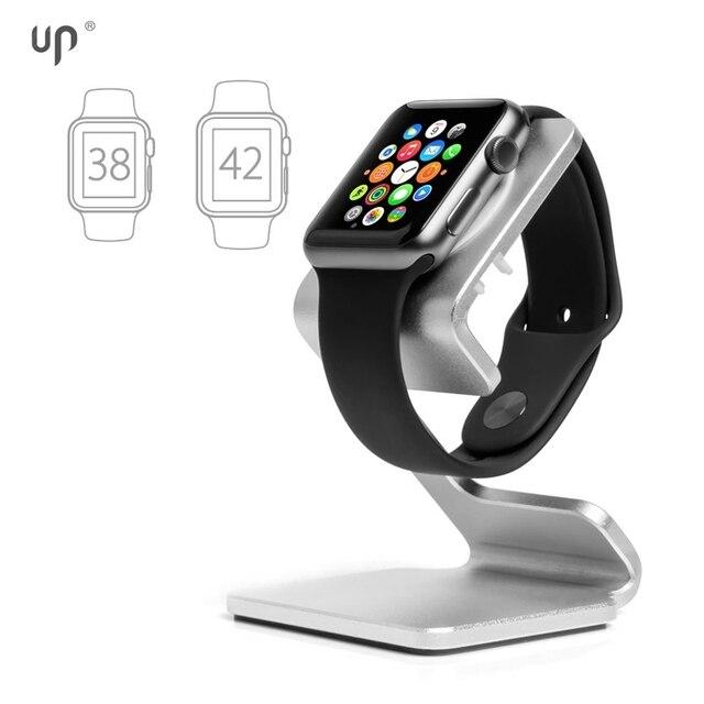 Up ap-3z soporte para ios reloj. muelle de carga para apple watch, casa y oficina accesorios, hecho de metal y color de la astilla