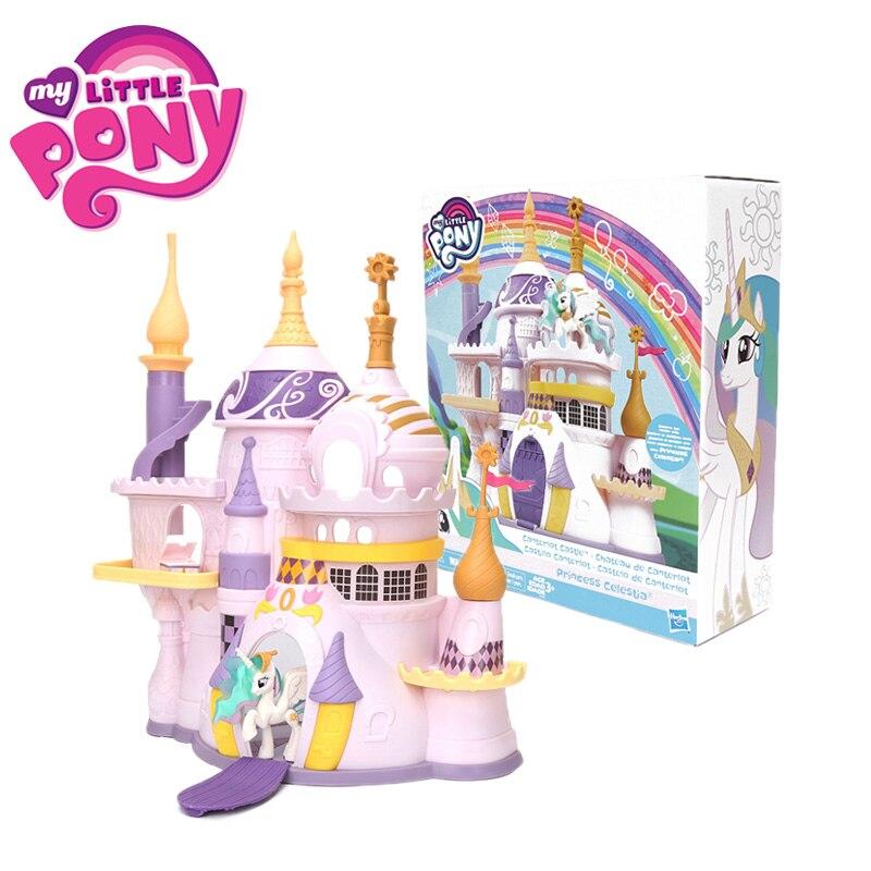 2019 Castillo Canterlot château mon petit poney jouets princesse Celestia amitié est magique bébé à collectionner modèle poupées
