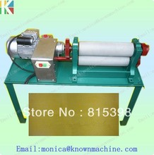 86*450mm  electronic beeswax comb foundation roller mill