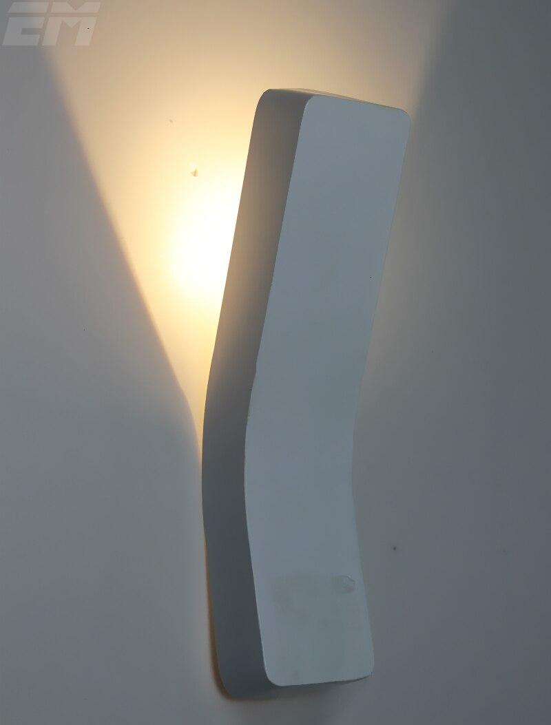 Bedroom modern wall lights - Modern Wall Light White Aluminum 340 80 150mm 90 260v 3w Led Indoor