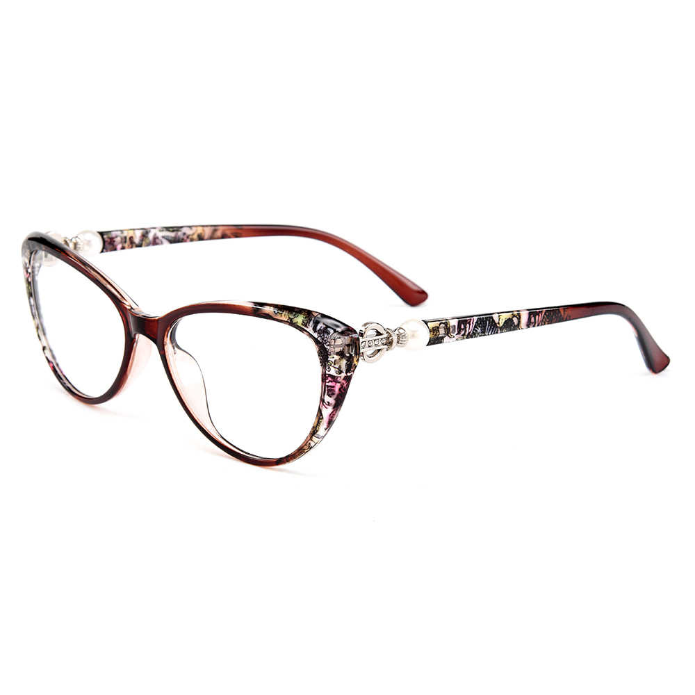 Gmei אופטי Ultralight TR90 חתול עיניים נשים אופטי משקפיים מסגרת משקפיים מסגרות לנשים קוצר ראייה רוחק משקפיים M1711