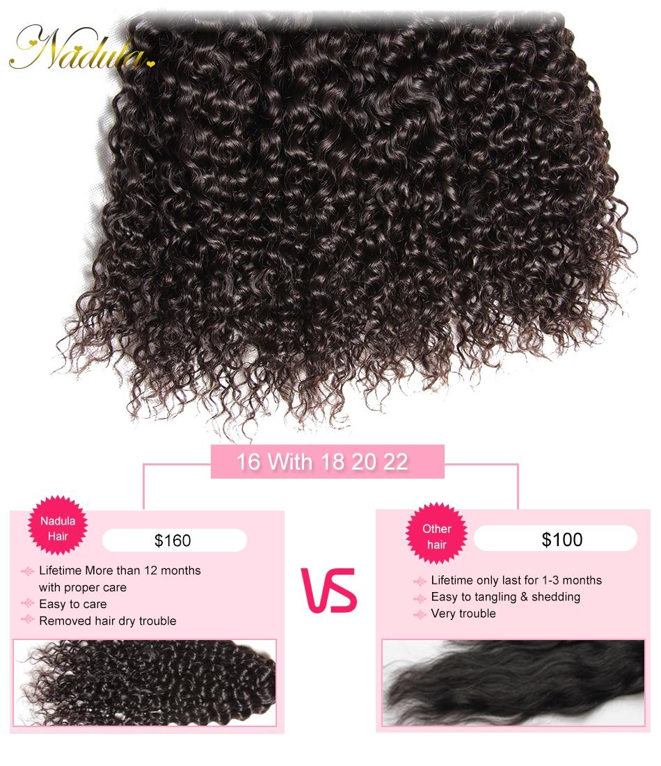 HTB11Epfa6DuK1Rjy1zjq6zraFXas Nadula Hair Brazilian Curly Bundles With Closure 4*4 Lace Closure Remy Human Hair Bundles With Closure 3 Bundles With Closure