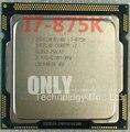free shipping  i7 875K 2.93GHz 8M SLBS2 Quad Core Eight threads desktop processors Computer i7-875K CPU Socket LGA 1156 pin