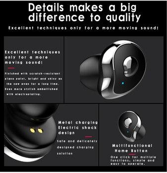Mini TWS SE6 Real Wireless In-ear Stereo Bluetooth 5.0 Headphones Earphones Stereo Active Noise Cancelling Sports Headphones XJ
