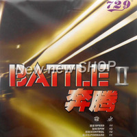 729 BATTLE II BATTLE 2 BATTLE2 Tacky Red Pips In Table Tennis Ping Pong Rubber With