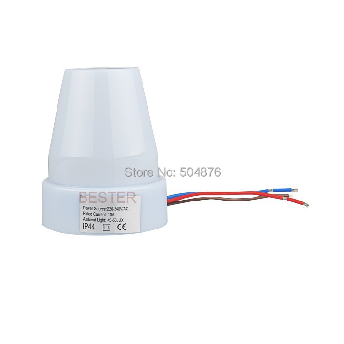 Online Shop Sensky Waterproof Outdoor Mounted 220v Ac Automatic Light Sensor Switch Photocell For Led Lights 4pcs Bs302 Aliexpress Mobile
