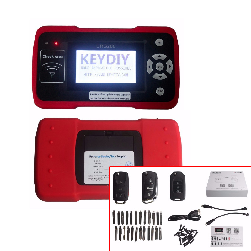Free Shipping By DHL  URG200 Remote Master The Best Tool(SK Verion KD900) For Remote Control World For Kd Remote