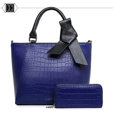 2016 new high quality fashion designer Composite Bag big Bow women handbag Single shoulder bag