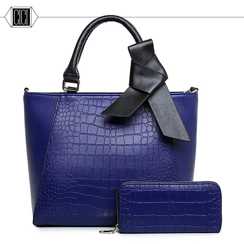 ФОТО 2016 new high quality fashion designer Composite Bag big Bow women handbag Single shoulder bag